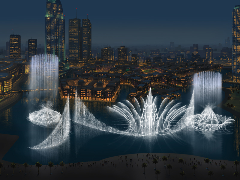 Must Go Places - Dubai Fountain Show - Dubai