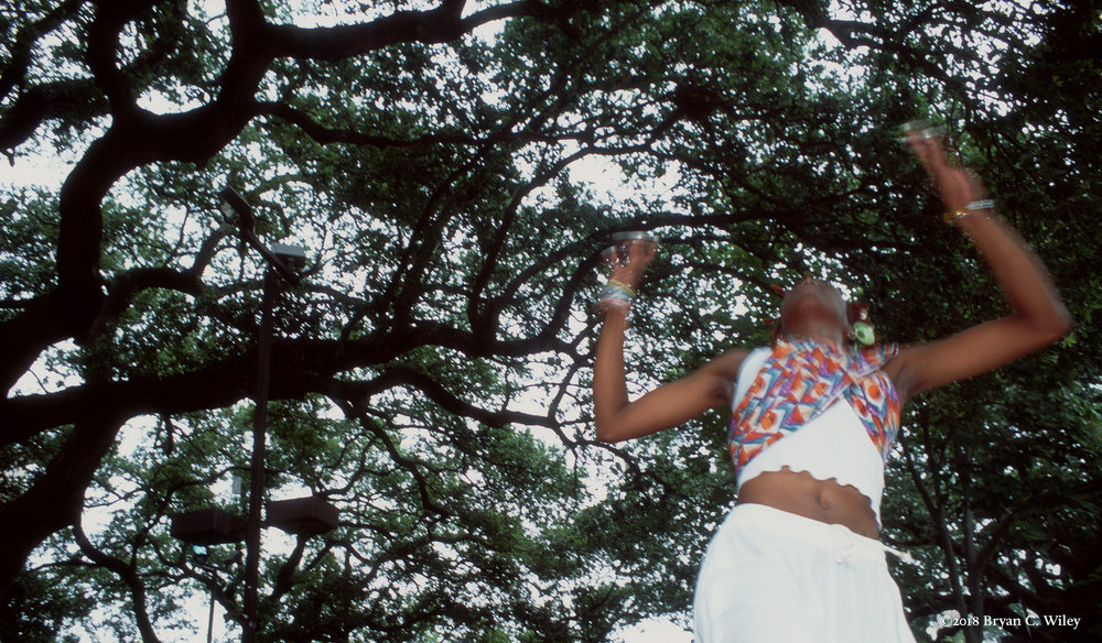 African dance at Congo Square In Praise of the Ancestors.   New Orleans, LA