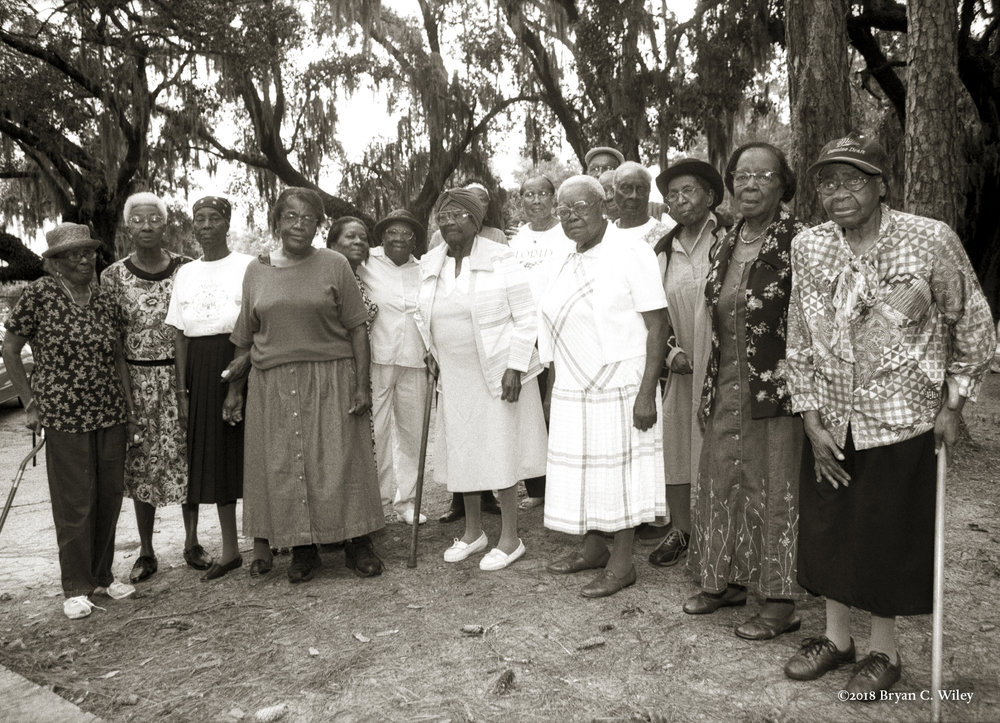 The last of the Gullah women  St. Helena Island, SC