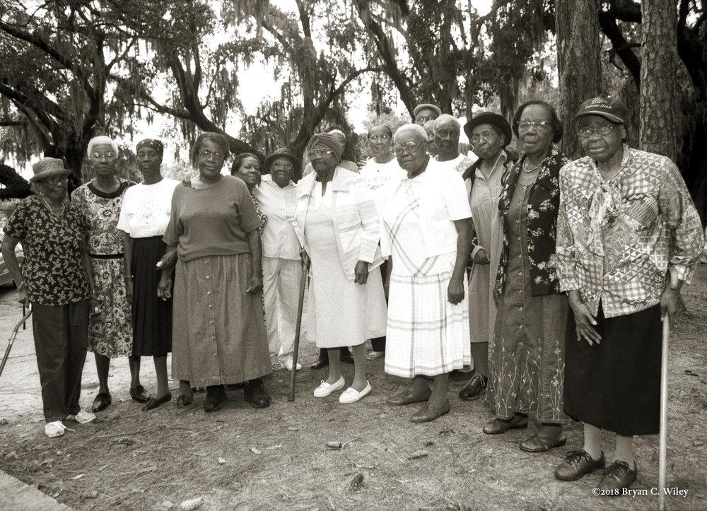 The last of the Gullah women  St. Helena Island, SC