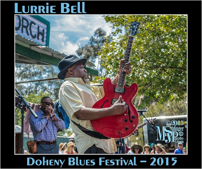 With Lurrie Bell at the Doheny Blues Festival