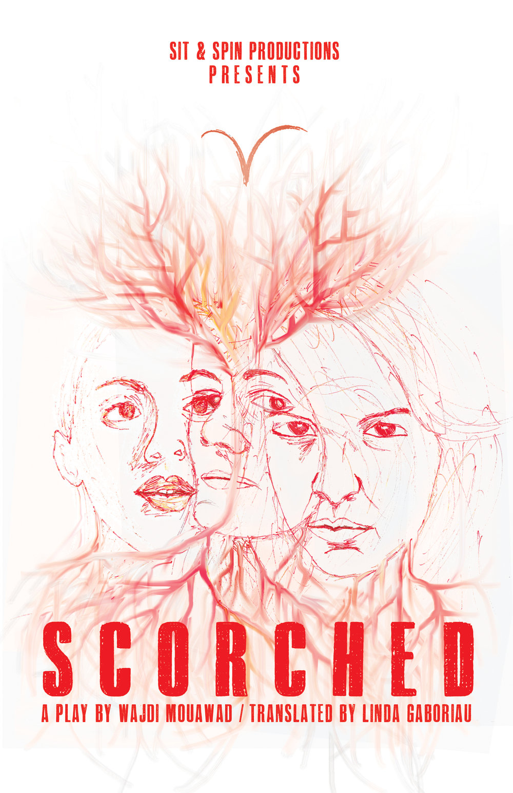 SCORCHED  - Program Cover Art