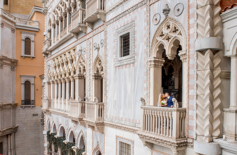 Venetian Hotel Balcony