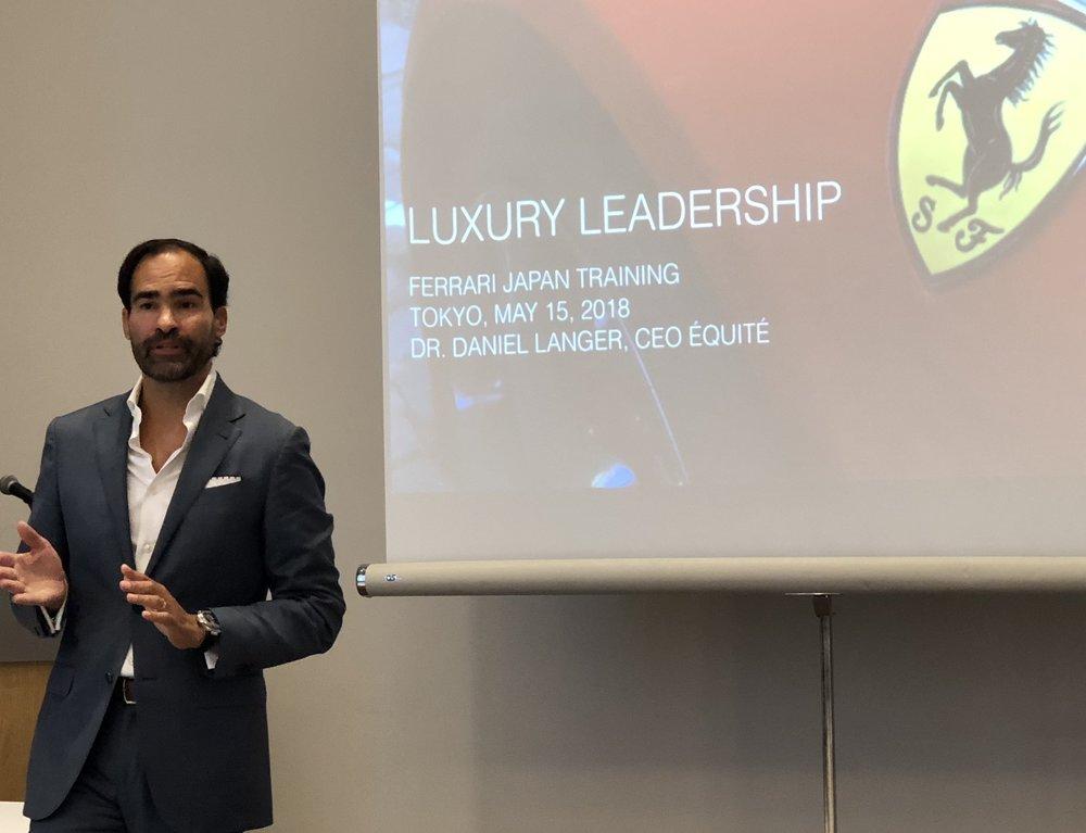 Luxury leadership seminars
