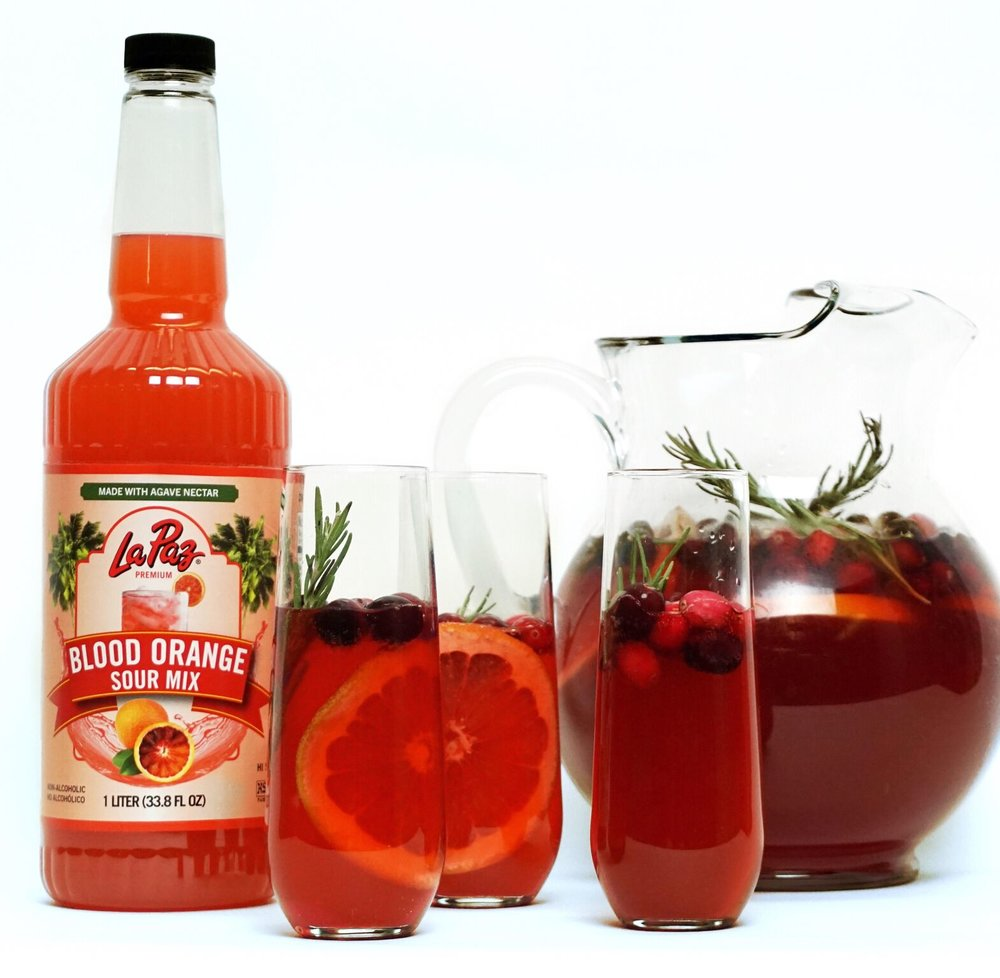 Blood Orange Cranberry Sangria