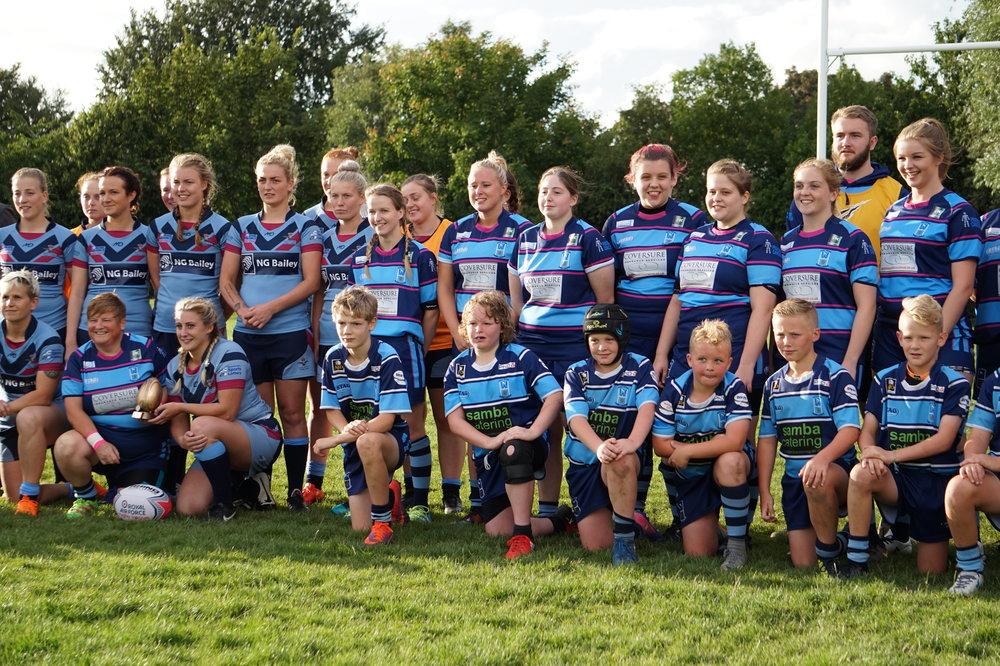 Hull Wyke Ladies recently played the RAF