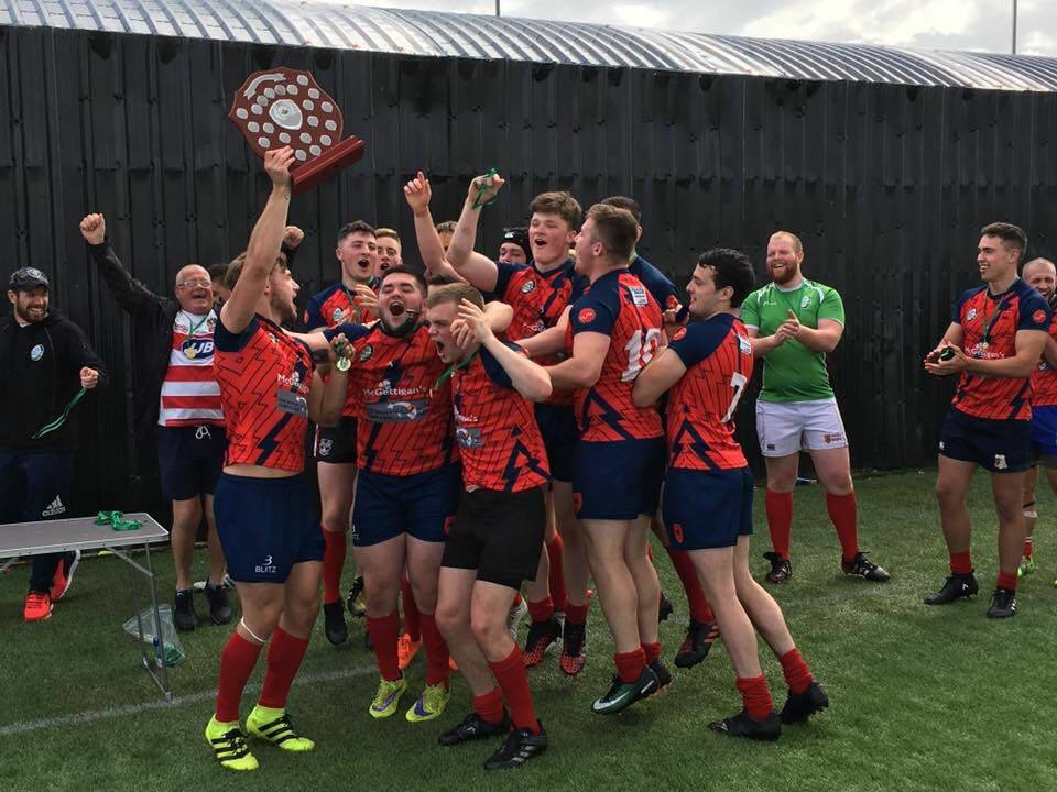 Longhorns RL are Irish National champions!