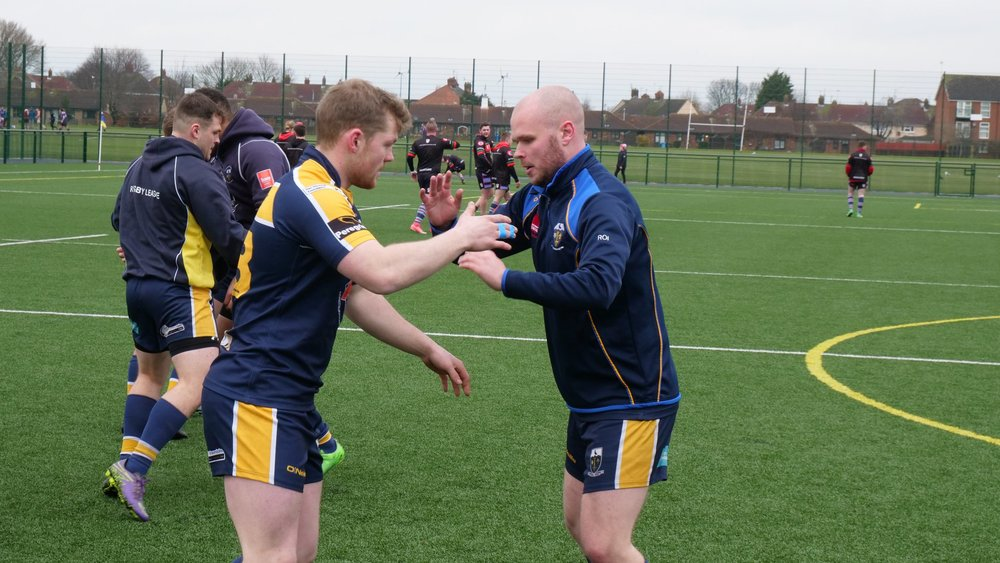 Hull Uni were impressive, but lose out to Myton Warriors