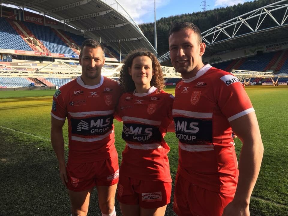 Elsie represented Hull Kingston Rovers at the official Womens Super League launch and has already rubbed shoulders with some of the biggest names in rugby league!