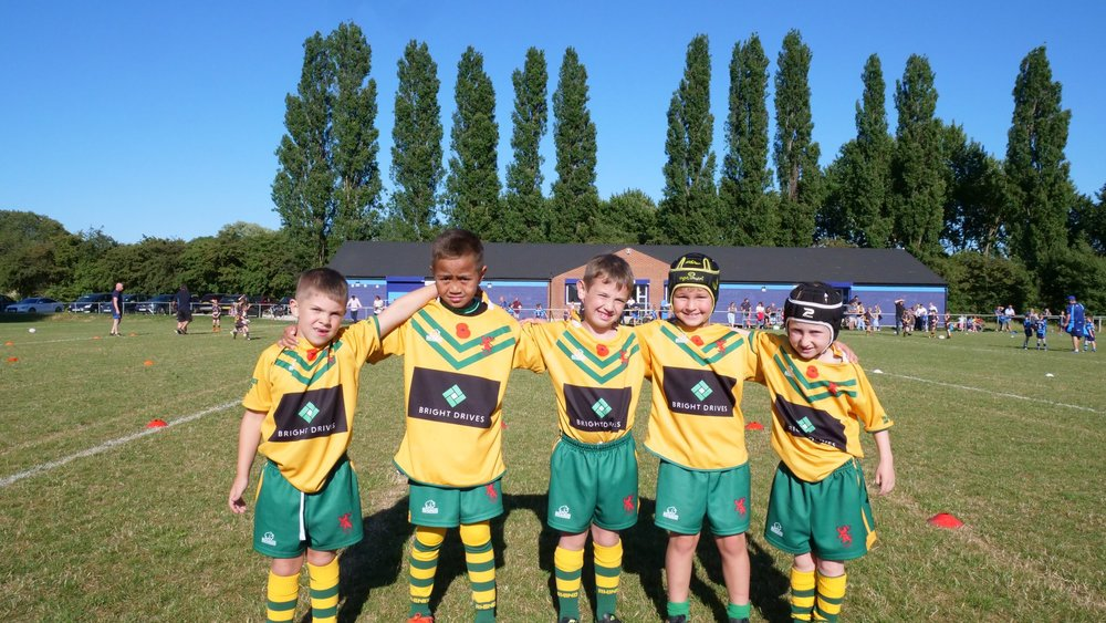 West Hull attract quality players at all age groups. (Photo: GRM minis)