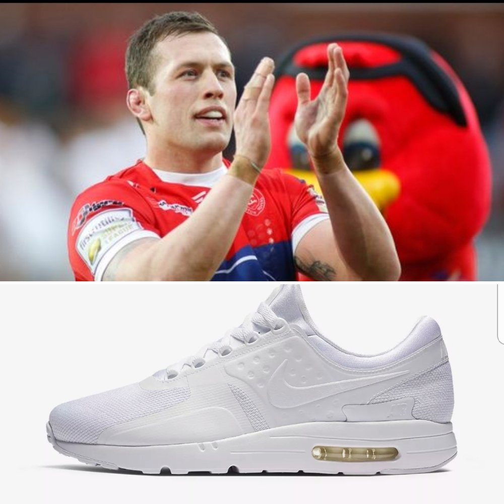 Hull KR Captain Shaun Lunt cites white Air Max's as his favourite pair of kicks, what do you think?