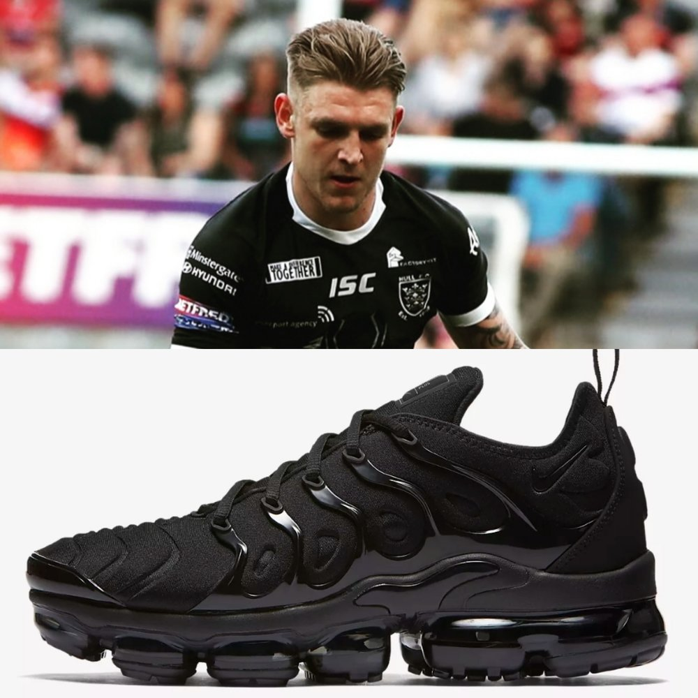 Formally of Hull Kingston Rovers, Liam Harris has impressed on the field for Hull F.C, but how impressed are you with the all black vaporMax?