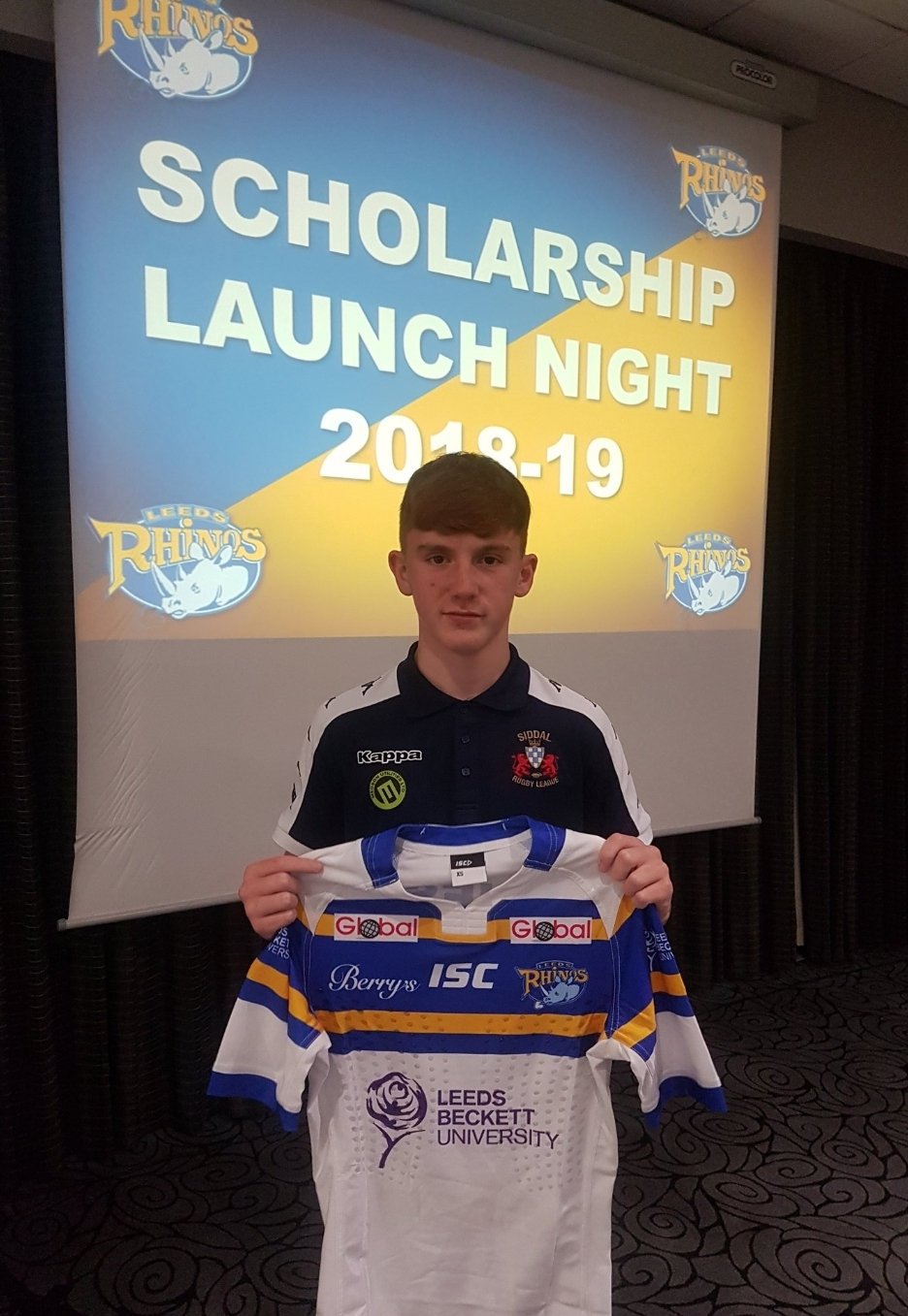 Kai Morgan is currently signed to Leeds Rhinos