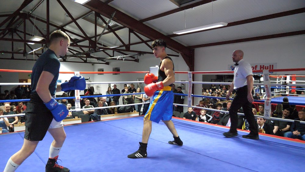 On Sunday 24th February you can watch Harry Edgecumbe v Max Manoehoetoe a bout referee Scott Duncan described as the best he has ever seen from amateur juniors. We'll also show highlights from undercards Aaron Duncan v Pawel Siendirwicz on this video.