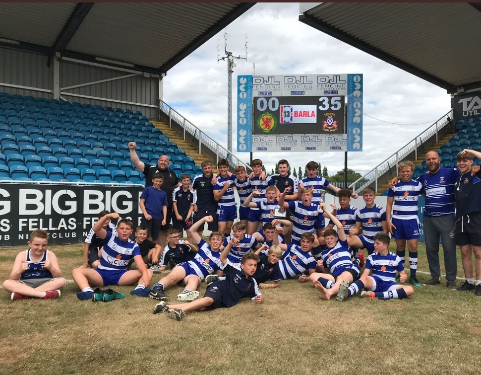 Siddal U15 beat West Hull in the National Cup final, Glyn believes experience in the top division made the difference.