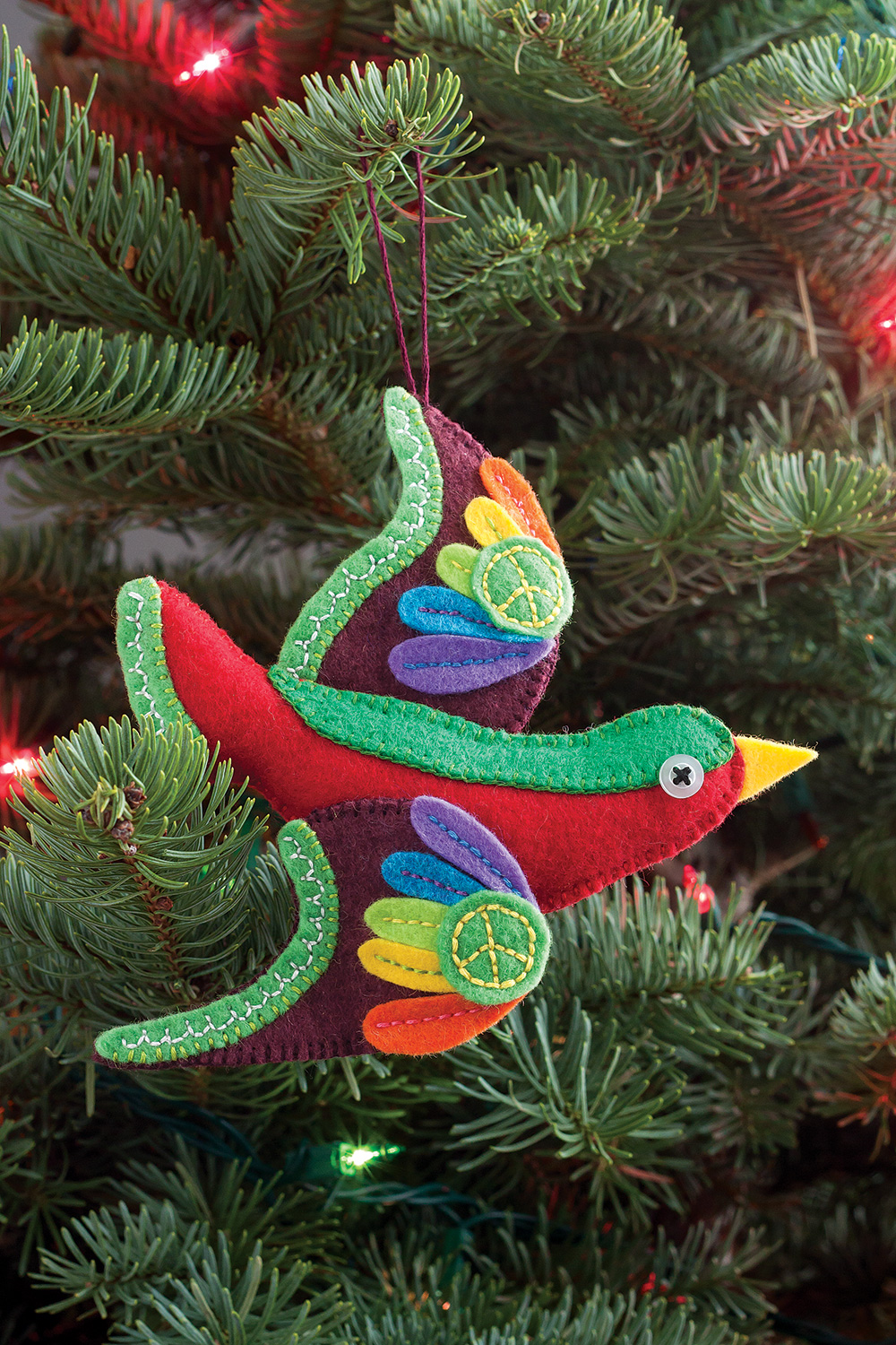 Peace Bird Ornament