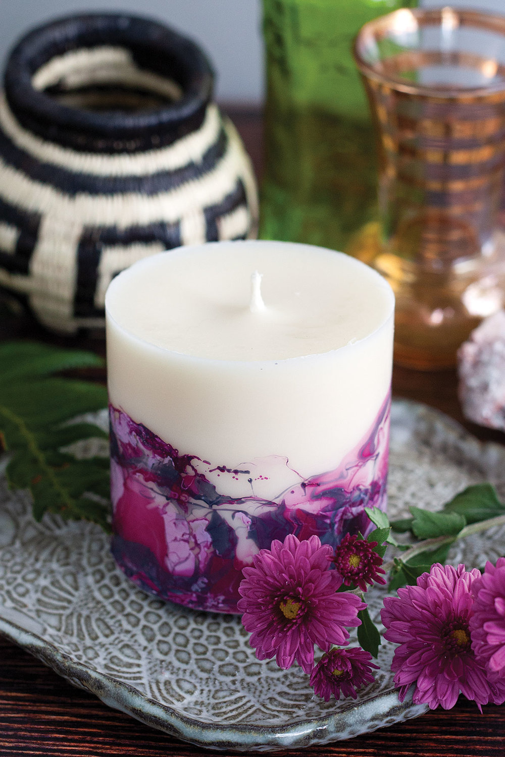 Marbled Soy Candle