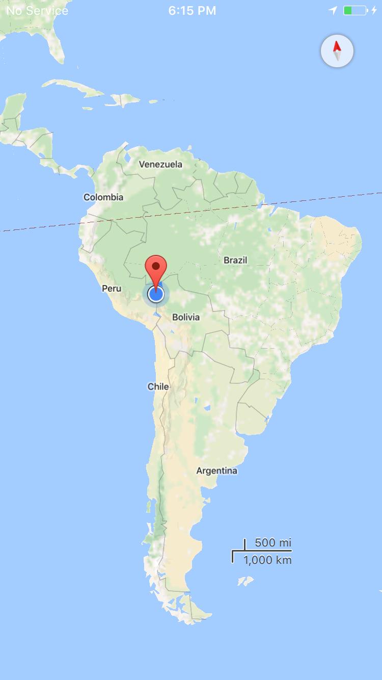 Las Piedras, Peru