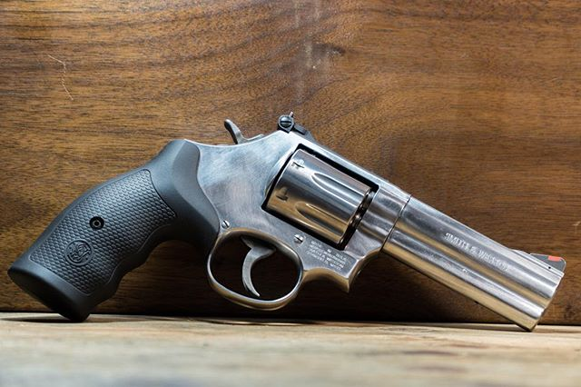 What's your favorite revolver you own?  Smith and Wesson 686+