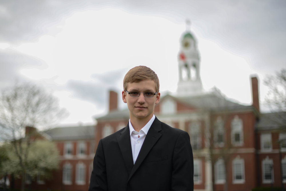 """Gabriel Laniewski is a second-year upper at Phillips Exeter Academy. He has been involved in Model United Nations since his freshman year, and loves designing the new website with help from Thomas Wang. At this year's PEAMUN, he will be co-chairing the Joint Crisis II committee. In addition to MUN, Gabriel enjoys participating in student government meetings and leading a community service club known as """"Chess for Children."""""""