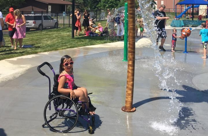Barrington Park District Splash Pad