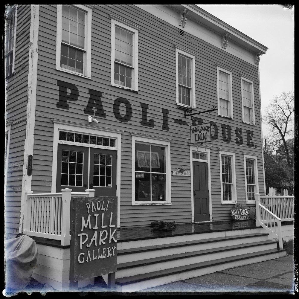 Paoli Mill Park Gallery & Paoli House Inn  6891 Paoli Road