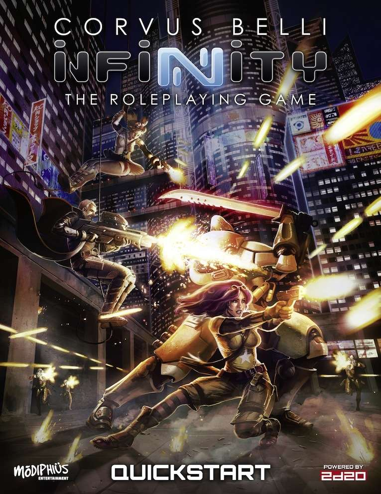 Corvus Belli's Infinity RPG