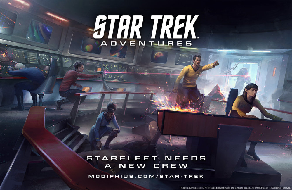 Star Trek Adventures Core Rules Book