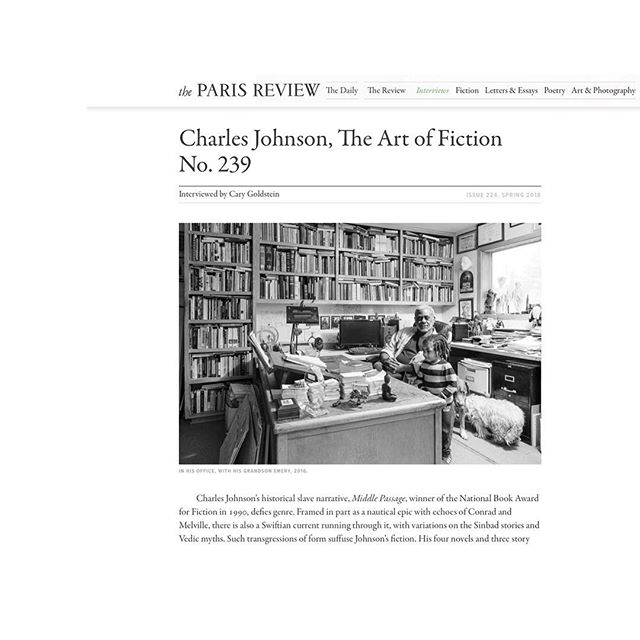 My 2016 portrait of Dr. Charles Johnson is published in the 2018 Spring issue of the Paris Review. Charles Johnson, The Art of Fiction No. 239. Thank you Dr Johnson for suggesting, thank you Nicole Rudick for asking! #tbt #artist #writer #published #hellahuman #portraitphotographer #portrait #d800 #speedlight #brownisgorgeous #zorn #zornimages #thankyou