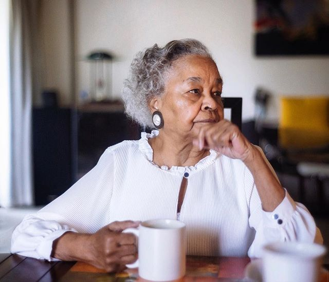 Happy Mother's Day. Helen C Taylor contemplative before Church. I love you much mum, 87 looks good on you. ❤️❤️😘#portrait #portraitphotography #love #brownisgorgeous #hellahuman #d800 #nattylight #sundayvibes #87