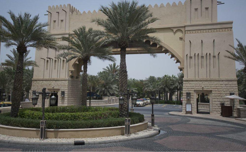 Souk Madinat Jumeirah entrance