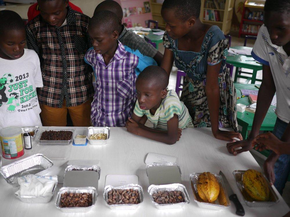 Chocolate-making workshop