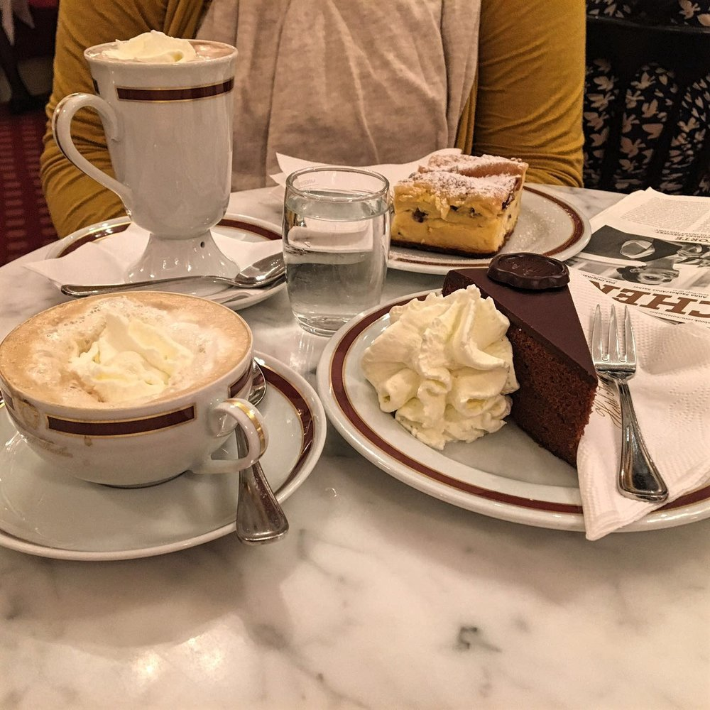 Sacher Cafe in Austria