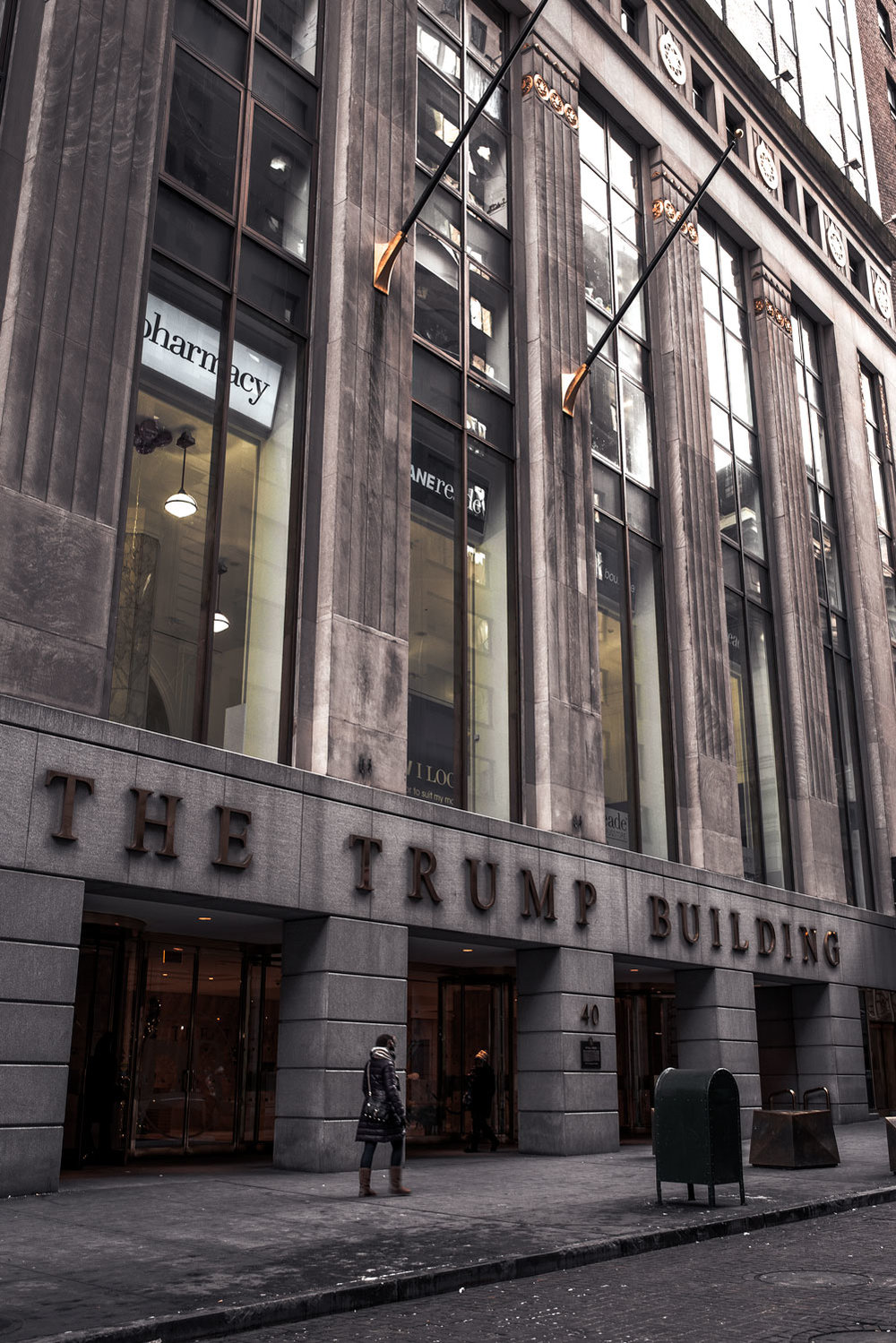 The Trump Building at 40 Wall Street