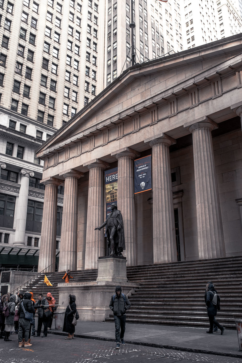 Federal Hall National Memorial, NYC