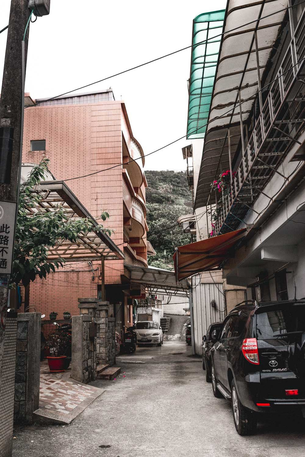Alleyways in Waimushan