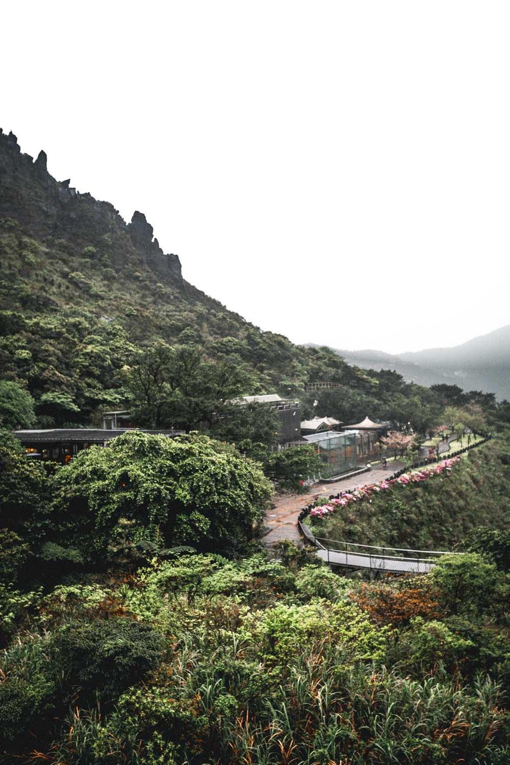 Teapot Mountain pathway