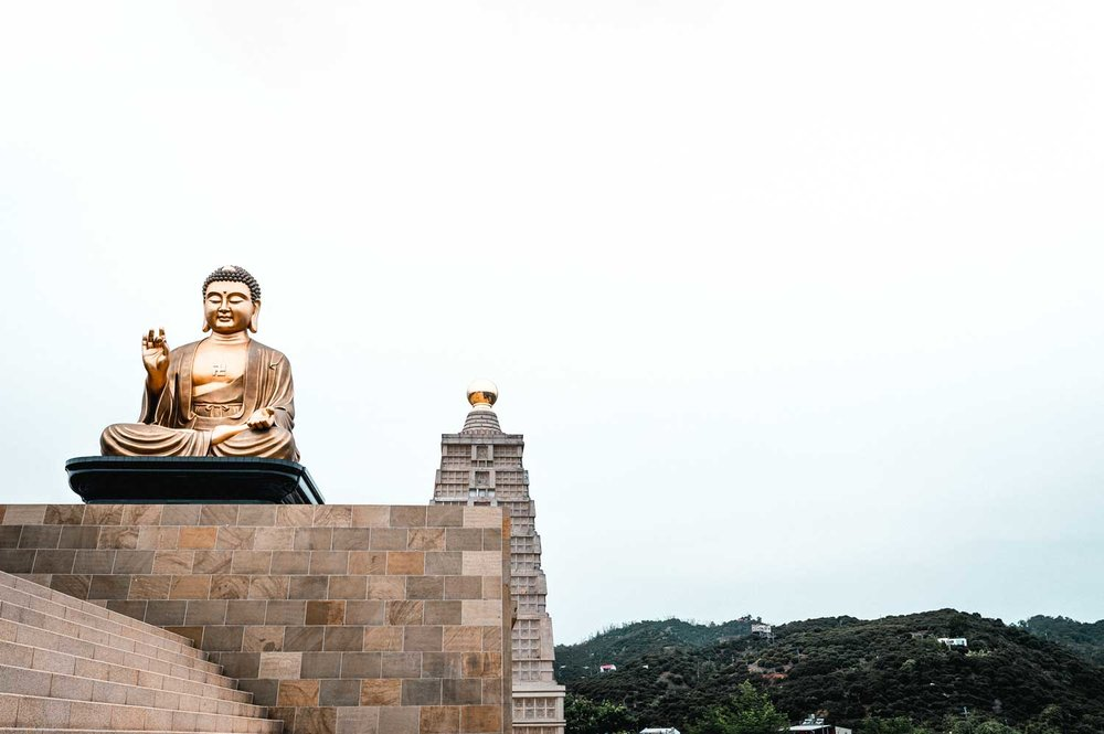 Largest Buddha statue in East Asia