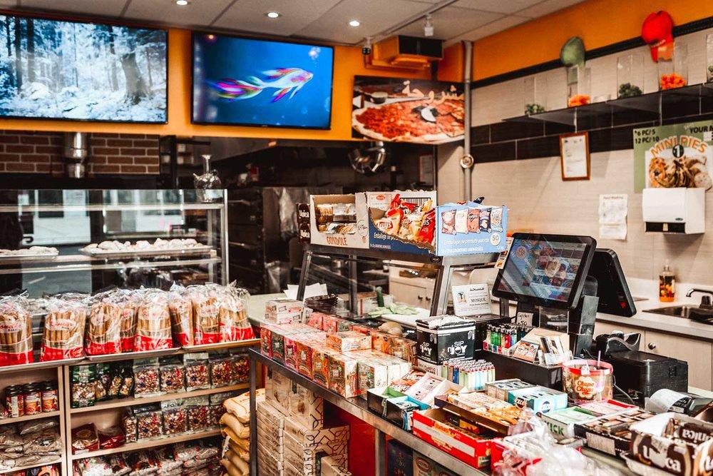 Inside Al Deewan Bakery