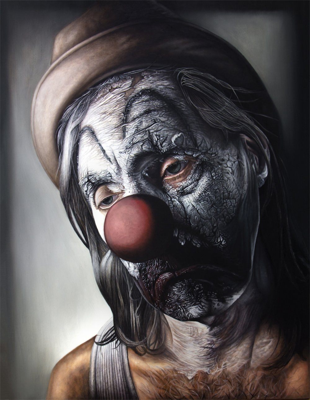 "HERETIC. 51"" x 67"". Oil on Linen. 2014"