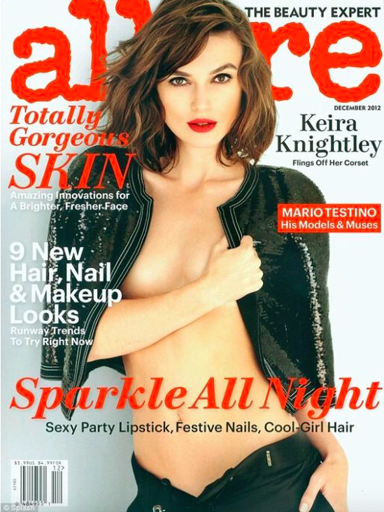 Allure Magazine, Dec. 2012