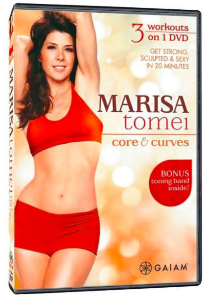 Core and Curves Workout Video Starring Marisa Tomei and Key Son