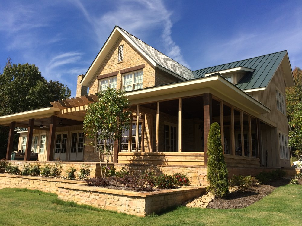 """Testimonials & Past Projects - """"It was imperative to find a quality builder we could trust to build our farmhouse as if it were his own. Lowell went beyond our expectations. The quality of the craftsmen he employs are second to none. """"- Harry O., customer"""