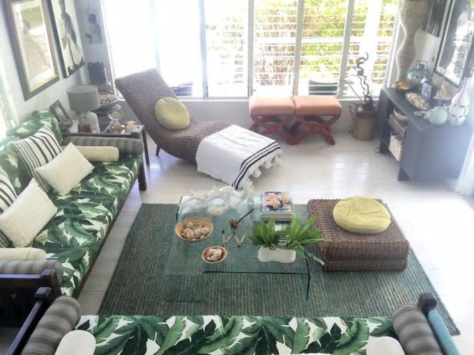 Living room in the home of designer Charmaine B. Werth. Photo courtesy of Charmaine B Werth.
