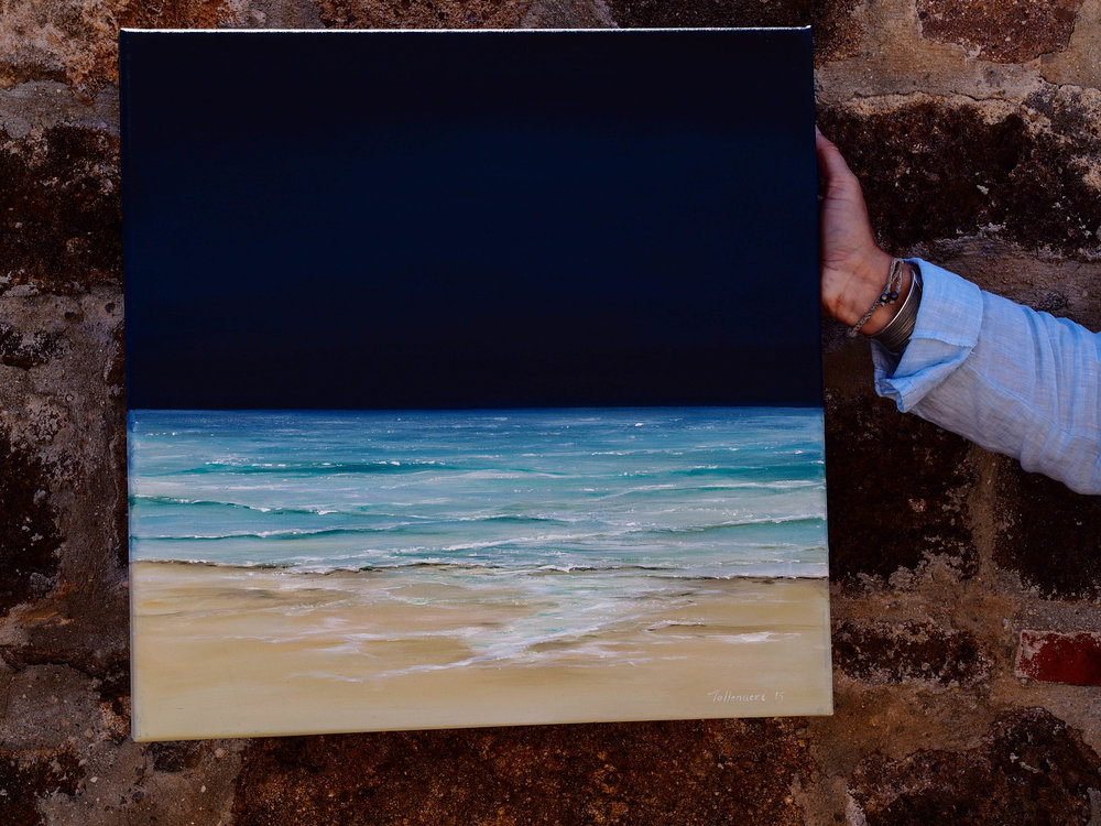 Seascape by Rikki Tollenaere. Photo by Jennie Ritchie