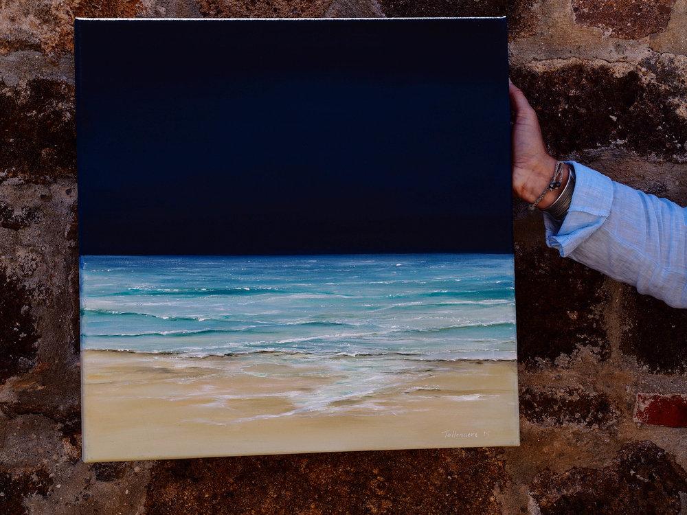 Seascape by Rikki Tollenaere. Photo by Jennie Ritchie
