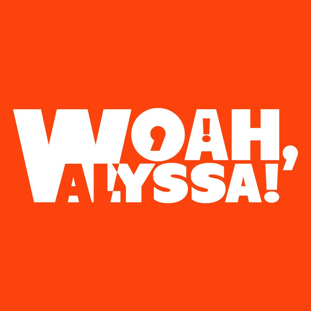 WOAH, ALYSSA!   Company Logo