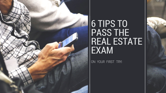 6 Tips to Pass Your Real Estate Exam The First Time — Ashby