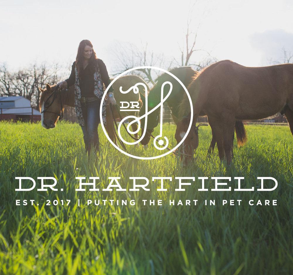Dr. Hartfield | Branding, Design, Web