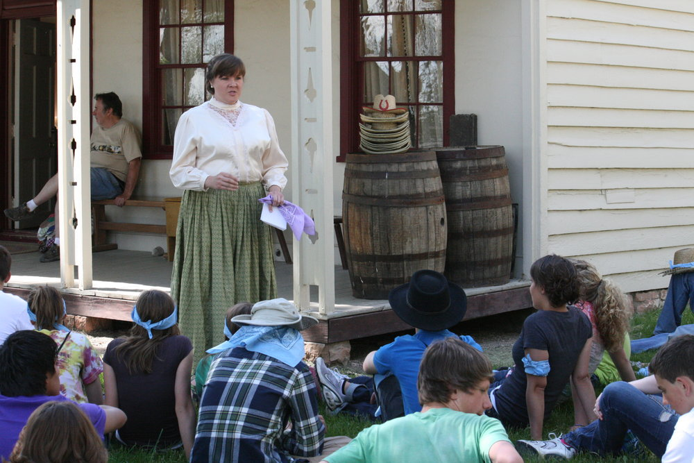 Then & Now This Is The Place Heritage Park and Historic Temple Square are now offering a two-day experience where participants experience and interact with the values of youth in the past as well as the present.